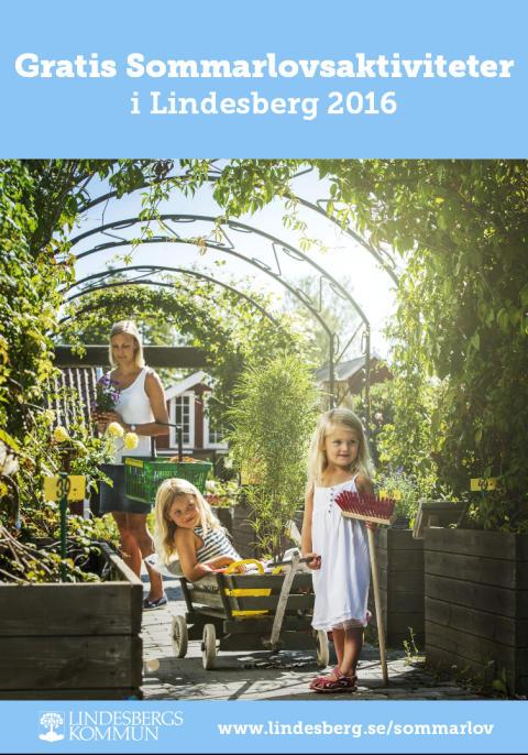 Gratis sommarlovsaktiviteter för barn  i Lindesberg