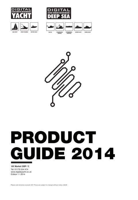 Digital Yacht 2014 UK Price & Product Guide
