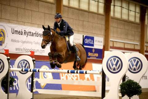 Marcus Westergren vann Volkswagen Grand Prix i Umeå