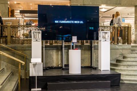 LG Electronics och NK inleder tekniksamarbete för konsumenter som endast nöjer sig med det allra bästa