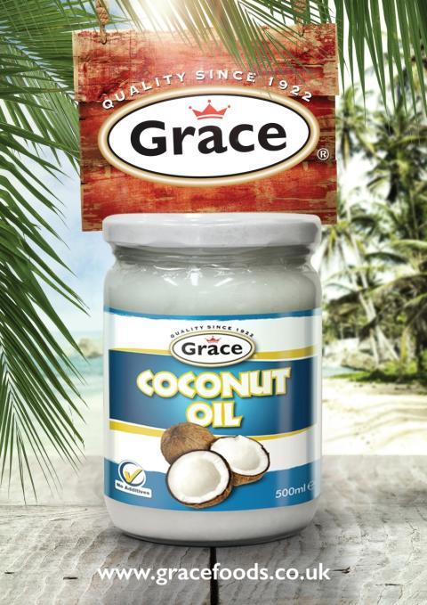 Grace Coconut Oil - Nyttig storsäljare från Gray's!
