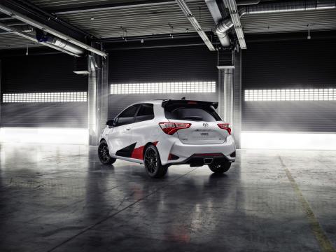 GRMN-versionen av Yaris har sina rötter i Toyotas rallysatsning