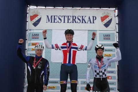 NM CX Skien 2016 pallen M Junior Wærenskjold