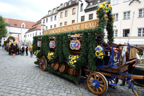Pferdegespann Wiesn 2014