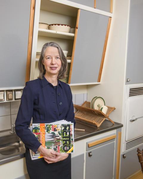 Viveca Carlsson, chefredaktör på Scandinavian Retro
