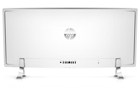 HP ENVY Curved Back facing
