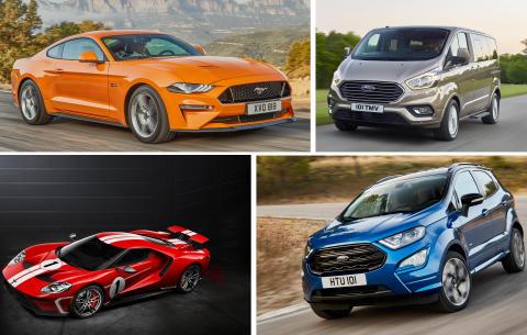   Ny Mustang, EcoSport og Tourneo Custom er Fords viktigste nyheter på den internasjonale bilutstillingen i Frankfurt