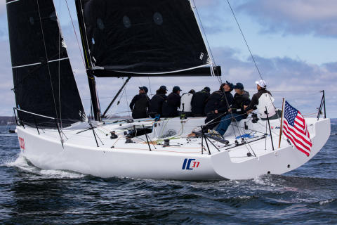 Hi-res image - YANMAR - The Melges IC37, an innovative amateur one-design class boat,  is powered by the YANMAR 3YM20 Saildrive