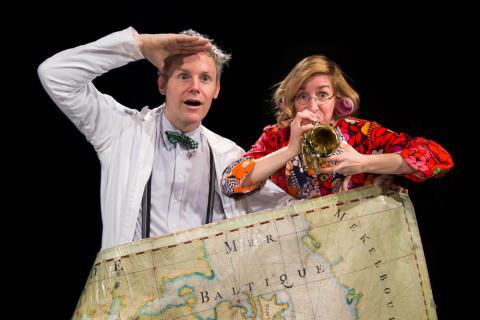 Dr Duma och Rakel - På vådliga vatten ,foto Daniel Milton