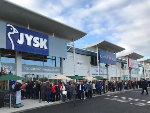 JYSK aniversează 40 de ani de existență prin extinderea într-o nouă țară, Irlanda