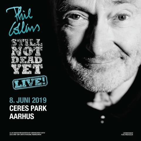 PHIL COLLINS: STILL NOT DEAD YET LIVE I CERES PARK, AARHUS LØRDAG 8. JUNI 2019