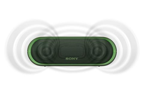 SRS-XB20 von Sony_grün_1