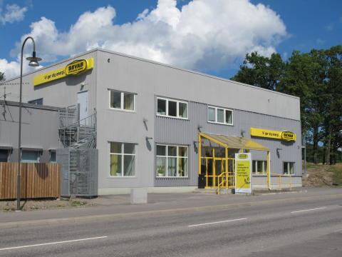 Huvudkontoret på Dammvägen 12 A i Strängnäs