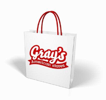 Gray's shopping bag