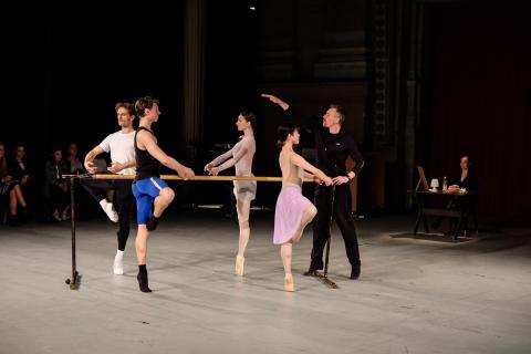 En dag i en dansares liv/A Day in a Dancer's Life