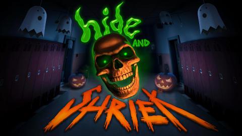 Hide&Shriek keyart