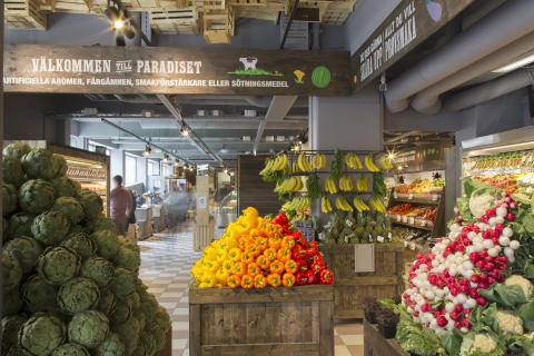 Paradiset Frukt och grönt