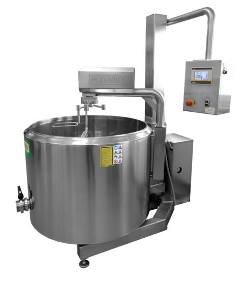Plevnik cheese kettle SKH 500-650_Elevator