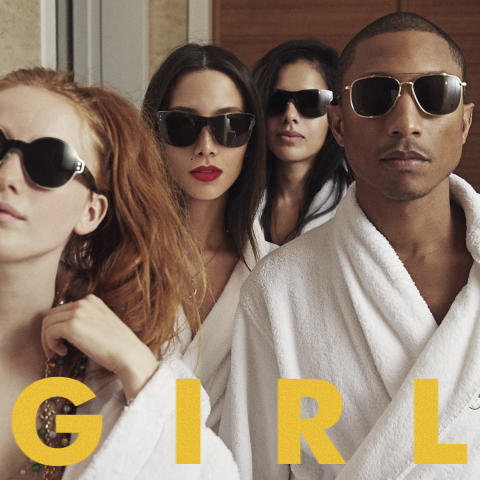 "Pharrell Williams släpper nya albumet ""G  I  R  L"""