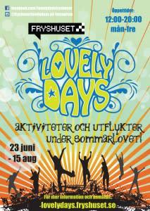 Sommarlovet blir roligare hos Lovely Days!