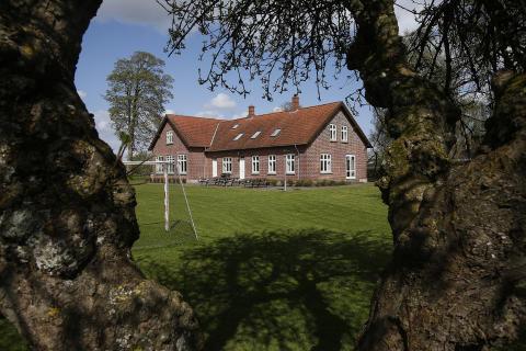 Miljøvenlig varmeløsning til sognegården