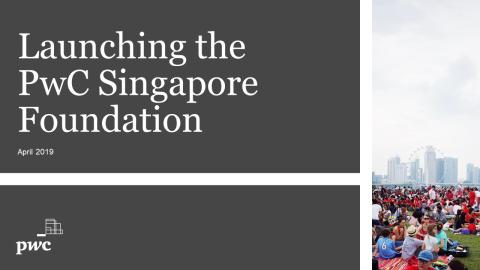 PwC Singapore launches new charitable foundation