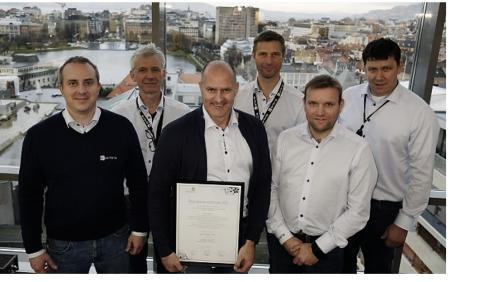 Entra Bergen kåret til Årets Grønne Driftsteam