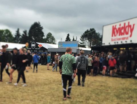 Smart pantløsning til gæsterne på Roskilde Festival