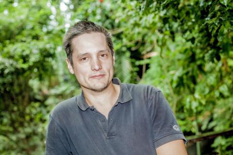 Alexander i nya regnskogen på Universeum