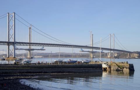Forth Road Bridge fully reopens to HGVs
