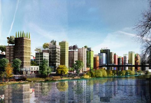 Per Ankersjö (C): Bygg en ny tät och hög stadsdel vid Västra city