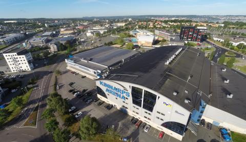 Jönköping Energi och HV71 vill skapa en grönare Kinnarps Arena