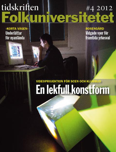 Videoprojektion och svenskundervisning i Tidskriften Folkuniversitetet