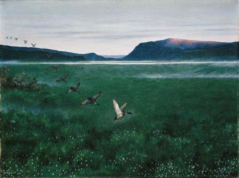 Eventyrrommet. Theodor Kittelsen, De 12 villender, 1897