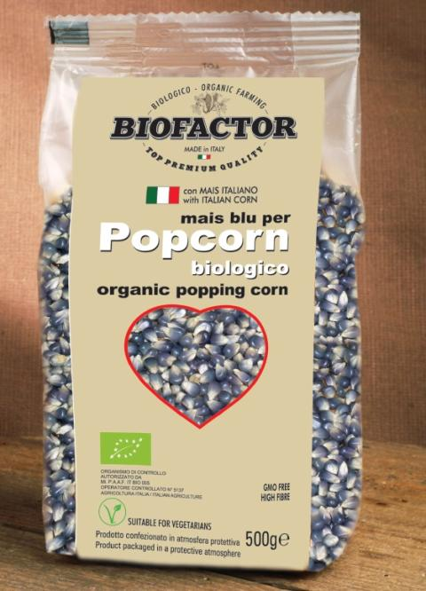 Poping corn Blue Corn, 500 gram