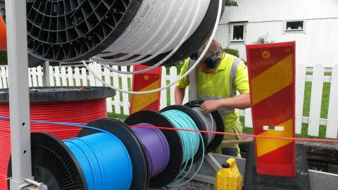 Telia bygger fiber till 5 000 villor i Hässleholm, Höör, Eslöv, Hörby och Kungsbacka