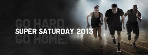 SUPER SATURDAY 21-22 september 2013
