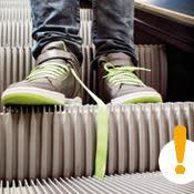 Våra 10 vanligaste misstag när vi åker rulltrappa