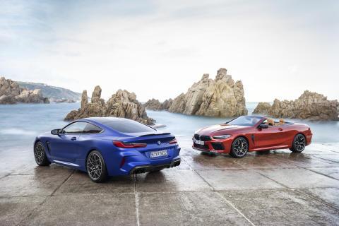 Helt nye BMW M8 Coupé og M8 Cabriolet: Rå luksus