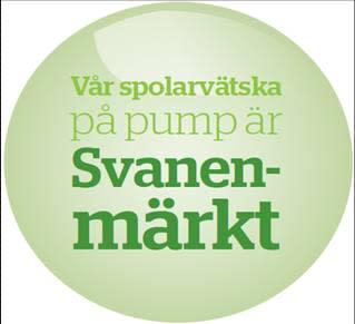 Miljömärkning på Statoils fullservicestationer