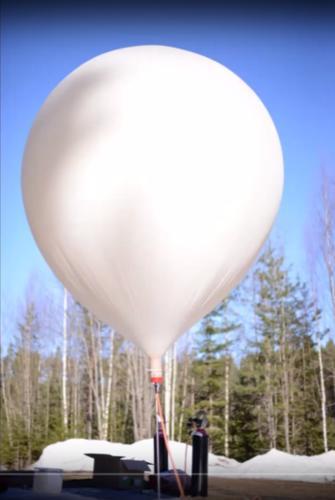 FluxLite-3 – höghöjdsballongen som mäter kosmisk strålning
