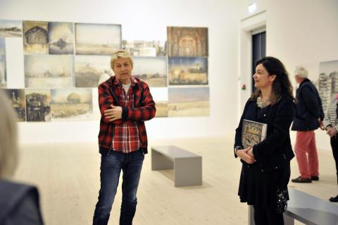 Lars Lerins verk visas i Minnesota, USA, i samarbete med Nordiska Akvarellmuseet