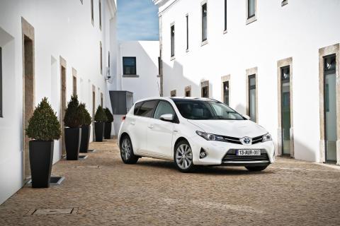 Toyotas bilar har lägst genomsnittligt CO2-utsläpp i Europa