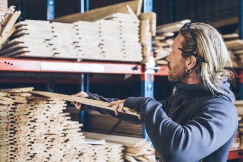 Fortsatt bra tillväxt för Byggmaterialhandeln i södra Sverige under juni