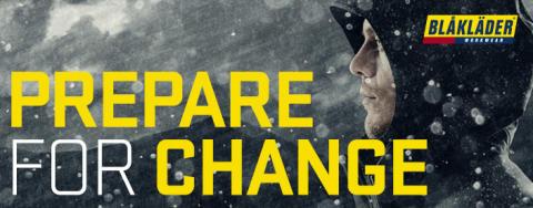 Evolution - prepare for change