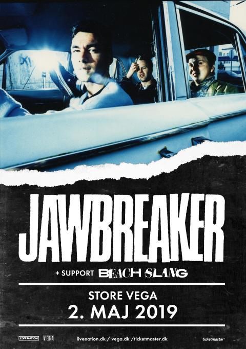 Det legendarisk punk-rock band, Jawbreaker, kommer til Store VEGA