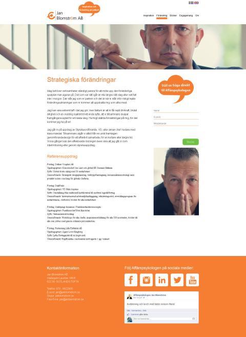 Jan Blomström Designpaket Unik