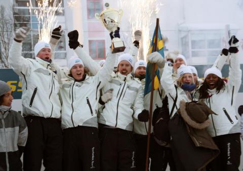 Iskallt snöbolls SM i Luleå vanns av LTU lag