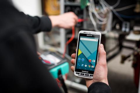 Handheld lanserar ny stryktålig Android-handdator, allt-i-ett enheten NAUTIZ X2
