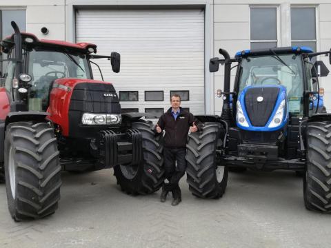VV-Traktori Case IH -kauppiaaksi Satakunnassa ja varaosamyyjäksi Porissa